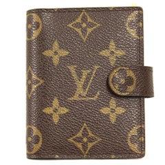 2000s Louis Vuitton Monogram Block Note Case