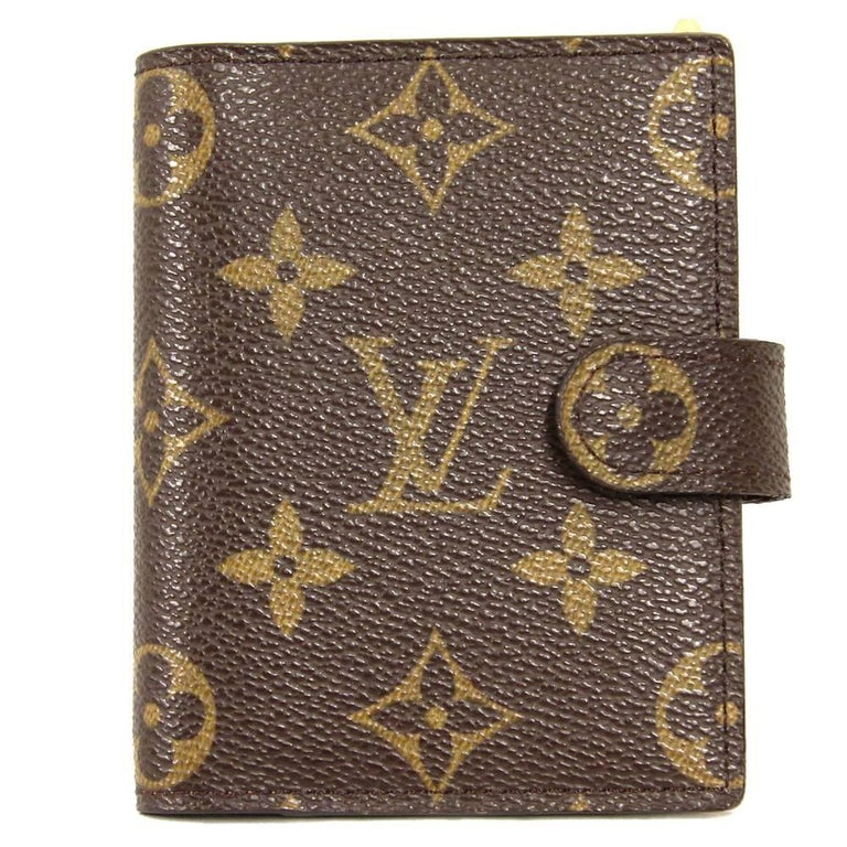 2000s Louis Vuitton Monogram Block Note Case