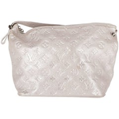 2000s Louis Vuitton Vintage Monogram Silver Bag