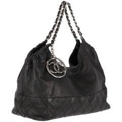 2000s Chanel Vintage Coco Cabas Tote Bag