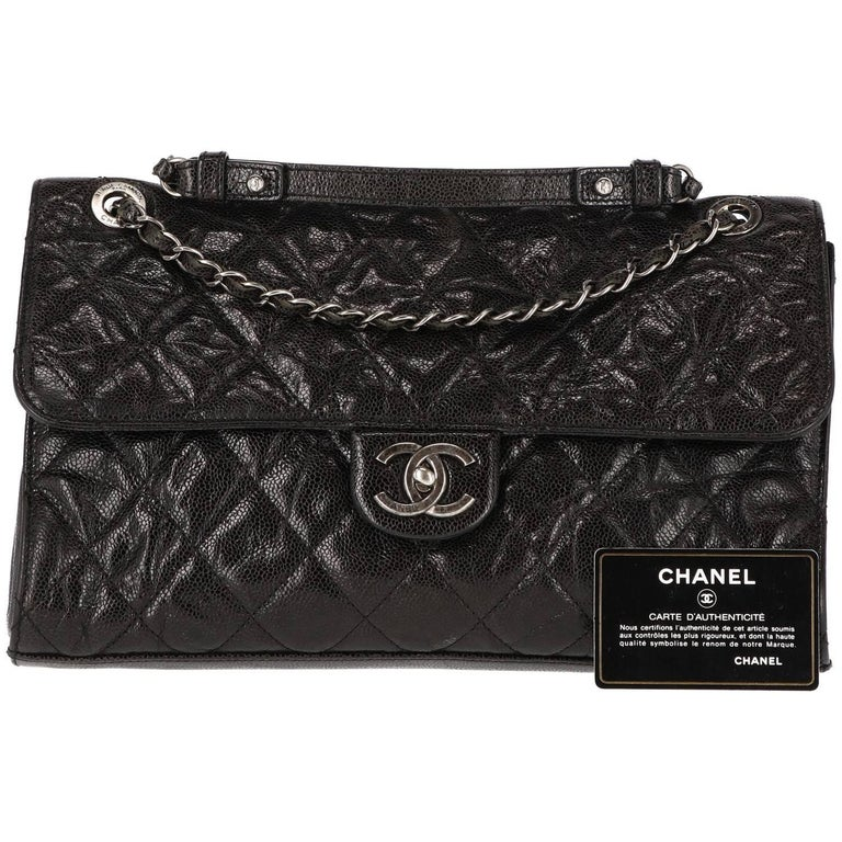 2000s Chanel Vintage Classic 30 cm Bag