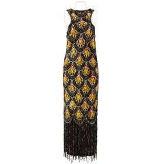 1990s Jean Paul Gaultier Multicolor Sequins Vintage Dress