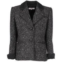 Yves Saint Laurent Buttoned Vintage Jacket, 1980s