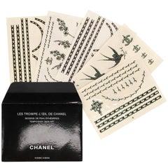 Chanel Temporary Tattoos Set, 2010s