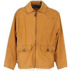 1990s Timberland Brown Vintage Leather Jacket