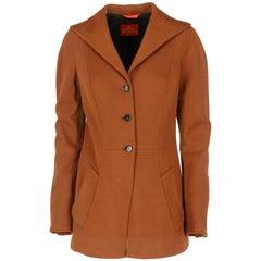 Vivienne Westwood Brown Wool Jacket, 1990s