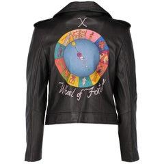 2010s Dior Black Leather Biker Jacket