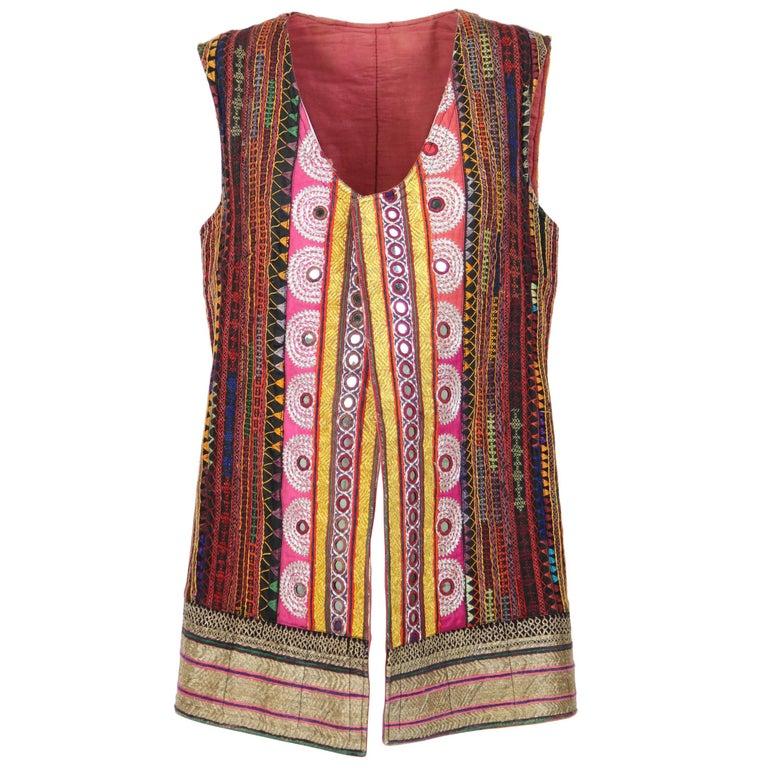 1980s Handmade Rajasthan Gilet For Sale