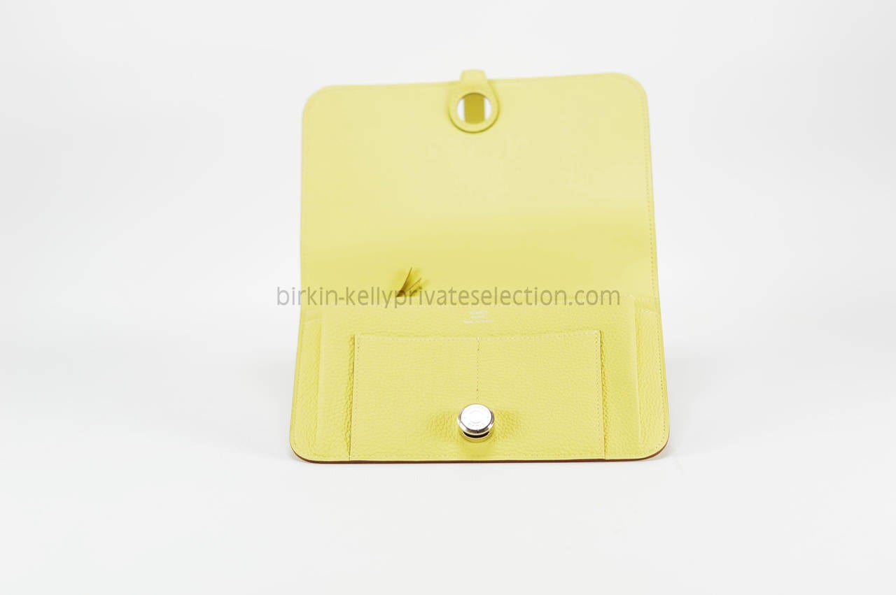 hermes kelly wallet yellow - photo #48