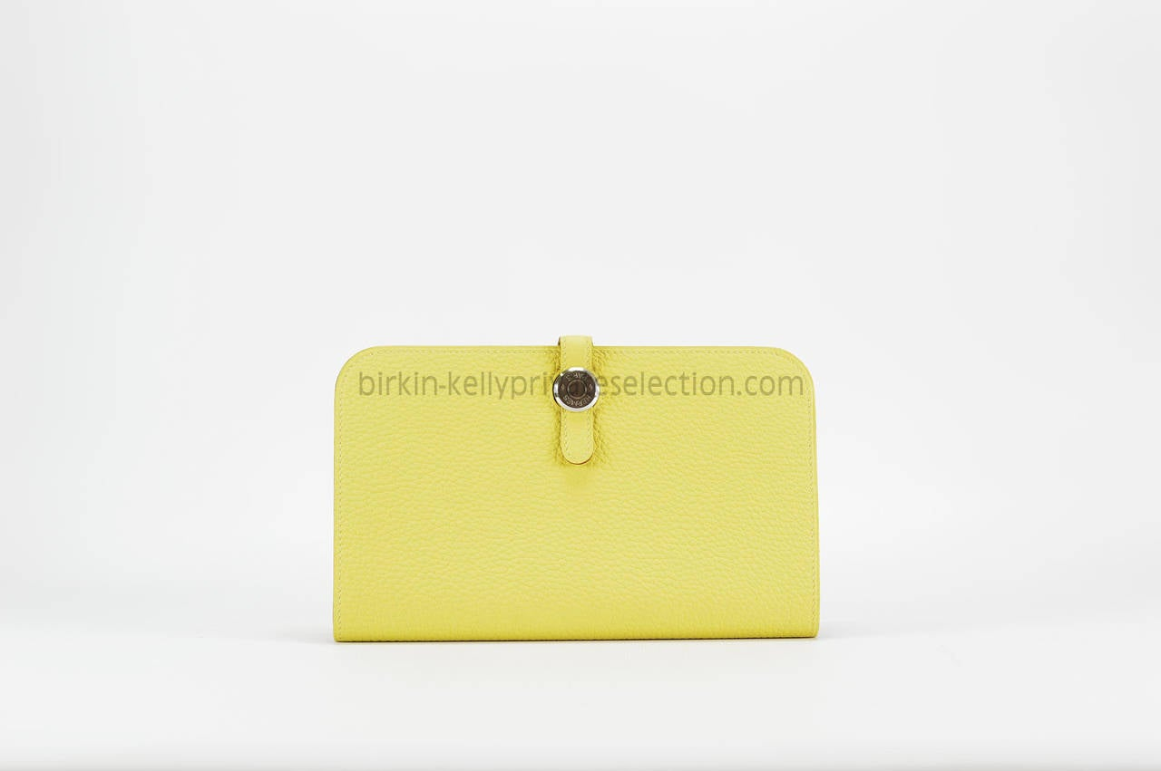 hermes kelly wallet yellow - photo #49