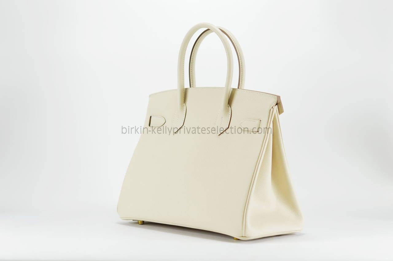 3055c0bcf1 hermes birkin bag 30 rouge h epsom leather silver hardware