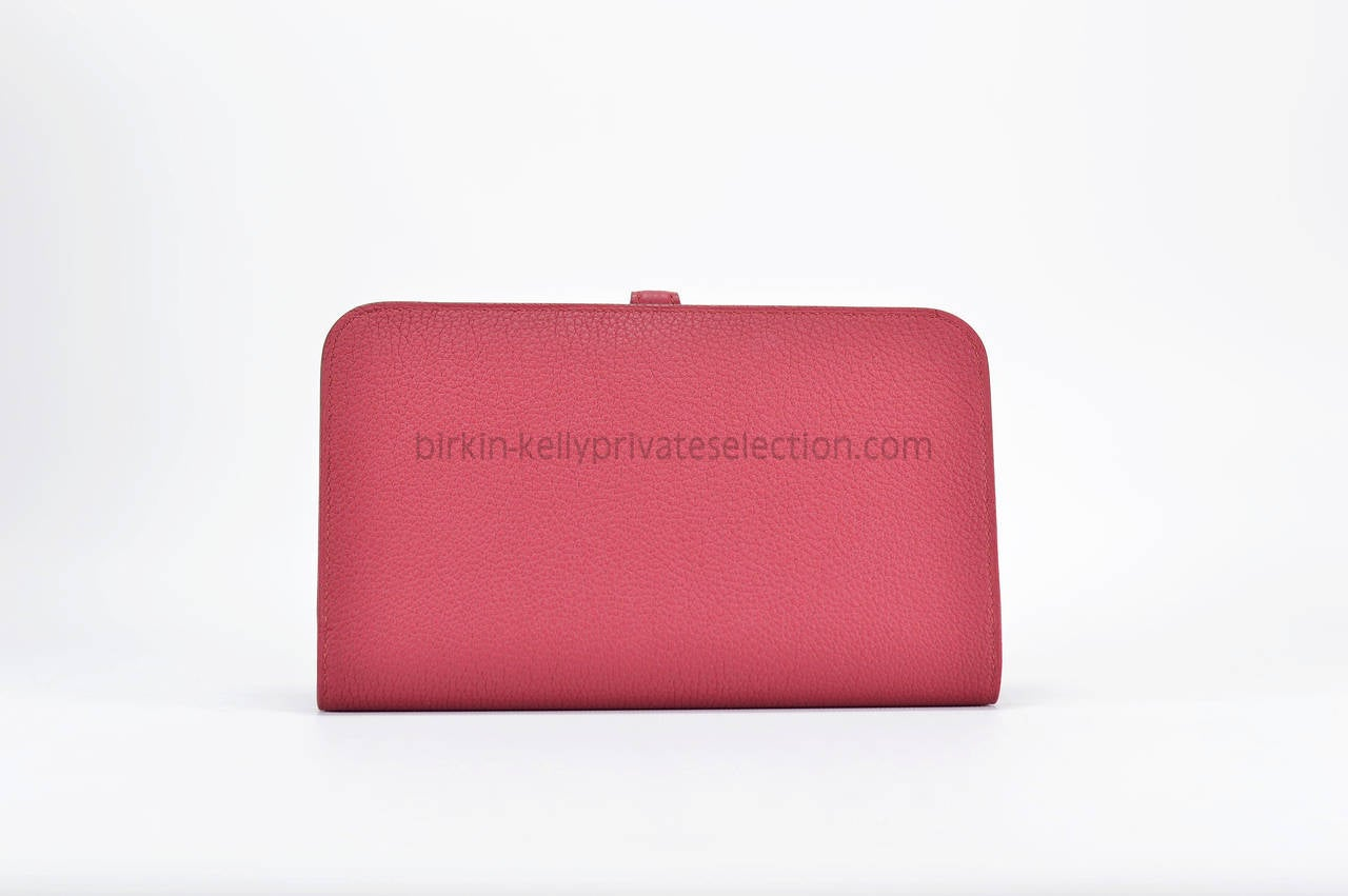 hermes Dogon Duo shrimp pink
