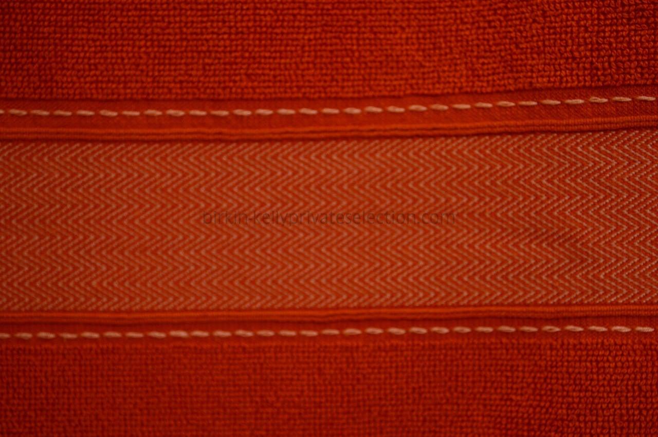hermes towel yachting art de vivre drap de plage orange 2015 at 1stdibs. Black Bedroom Furniture Sets. Home Design Ideas
