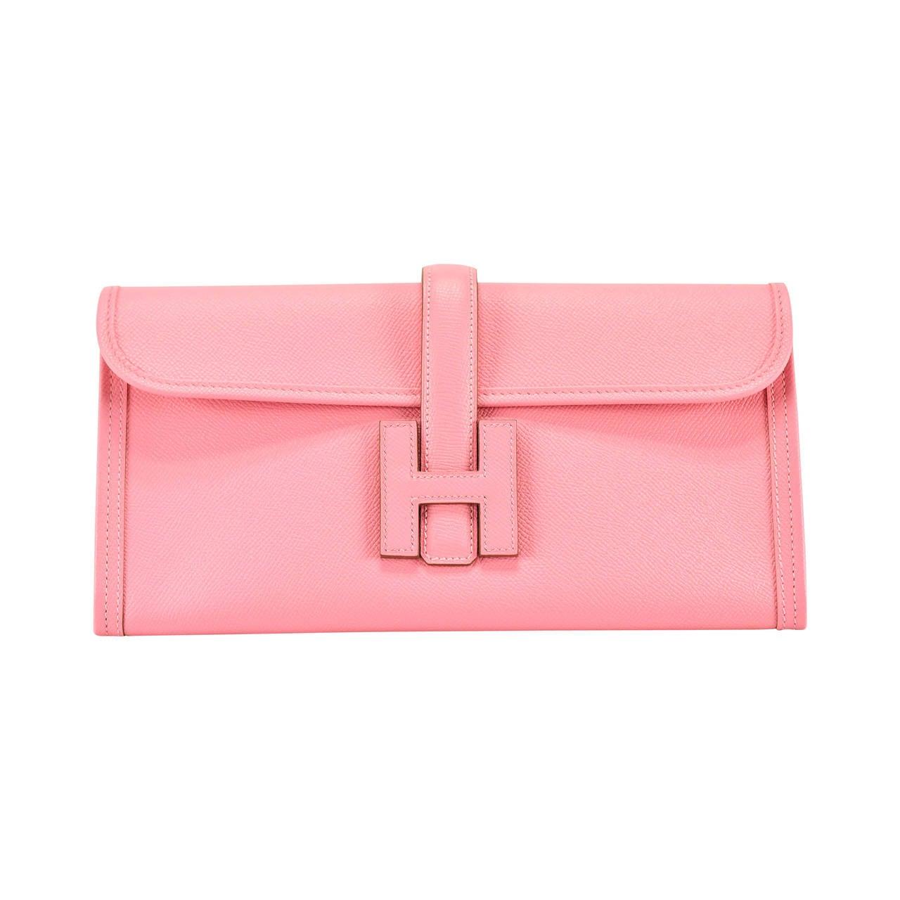 bag hermes price - Hermes Wallet JIGE ELAN 29 EPSOM PINK CONFETTI 2015. at 1stdibs