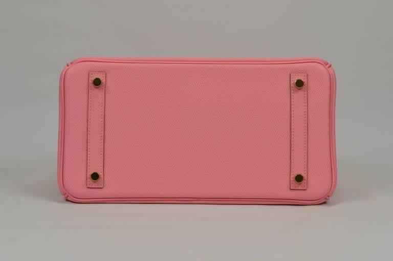 """hermes totes - 2014 """"New Color """" HERMES Birkin Bag 30cm """"Rose Confetti"""" Gold ..."""