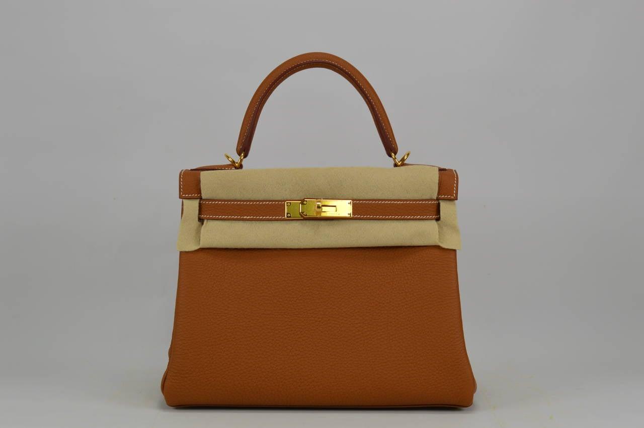 white birkin - 2014 Hermes Kelly Bag II Retourne 28cm Gold color Gold Hardware ...