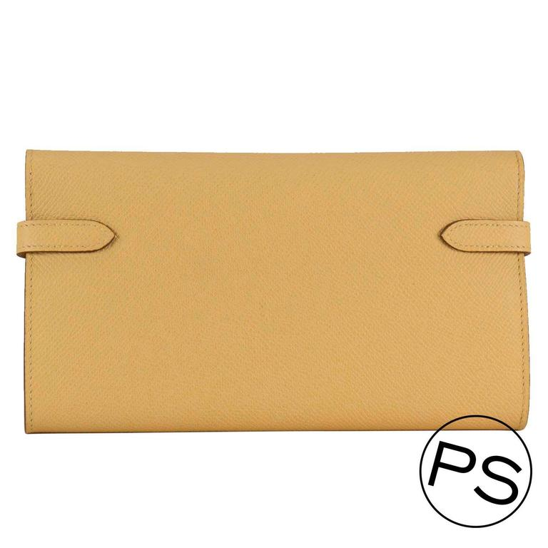hermes kelly wallet yellow - photo #7