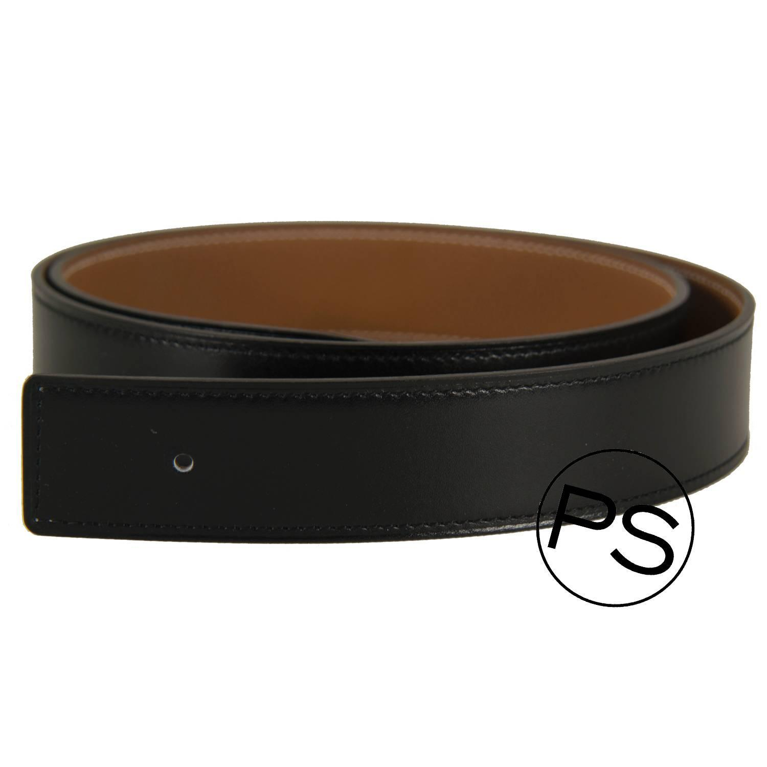 Hermes Belt Black Brown Reversible Constance H 90cm
