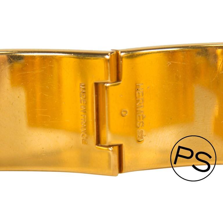 hermes bracelet mm clic clac h grey 2014 at 1stdibs