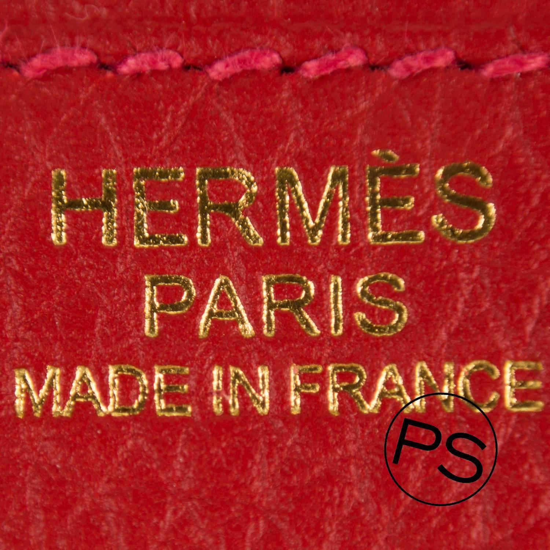 Hermes Capucine Swift Mini Kelly Pochette