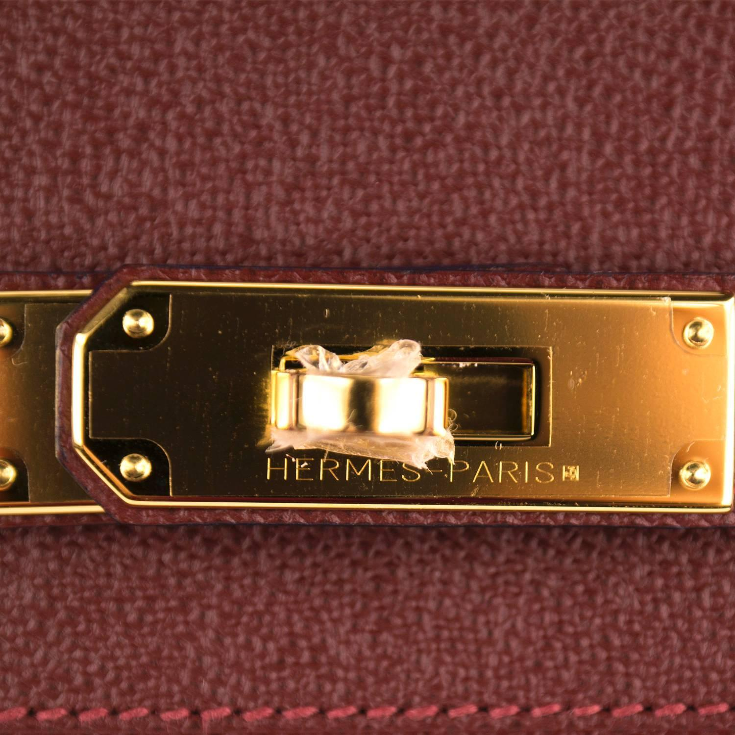 hermes mens wallet - Hermes Handbag Birkin 30 Epsom Red H Gold Hardware 2016. at 1stdibs