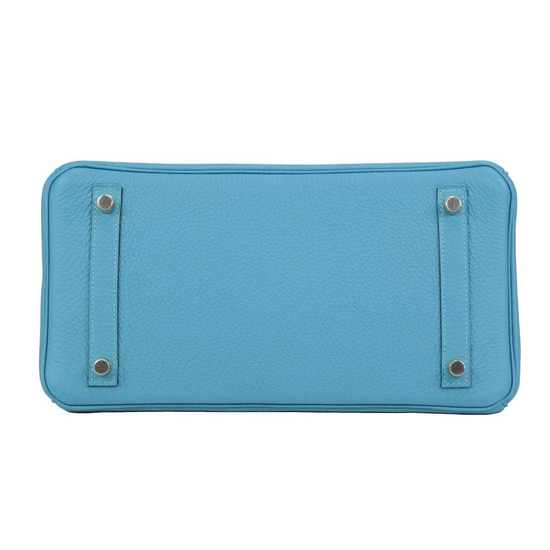mens hermes wallet - Hermes Handbag Birkin 30 Togo 7B Turquoise Palladium Hardware. at ...