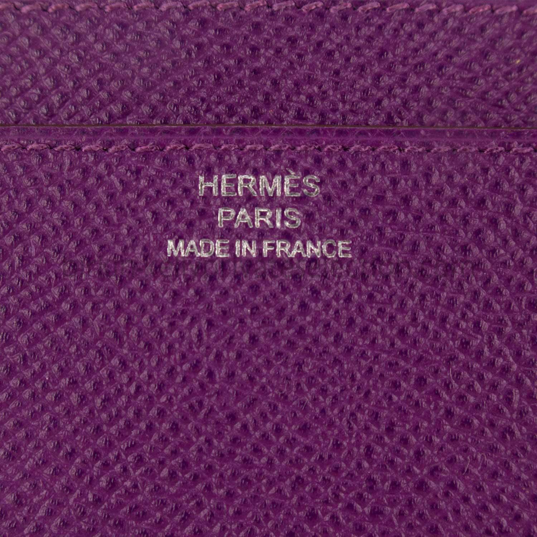hermes constance clutch wallet anemone epsom palladium hardware