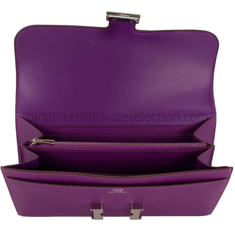 birkin inspired bags - hermes constance clutch wallet anemone epsom palladium hardware ...