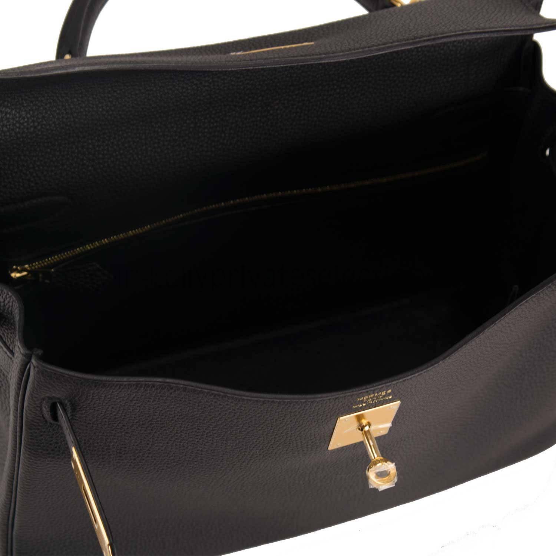 buy hermes birkin bag - hermes handbag kelly ii 32 retourne togo black gold hardware 2015 ...