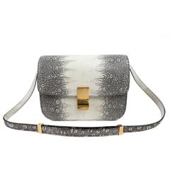 Celine Ombre Lizard Medium Box Bag
