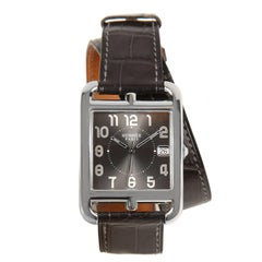 Hermès Cape Cod Watch  with Double Tour Band