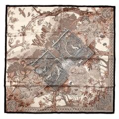 Hermes Central Park 90 cm Silk Scarf- Limited Edition