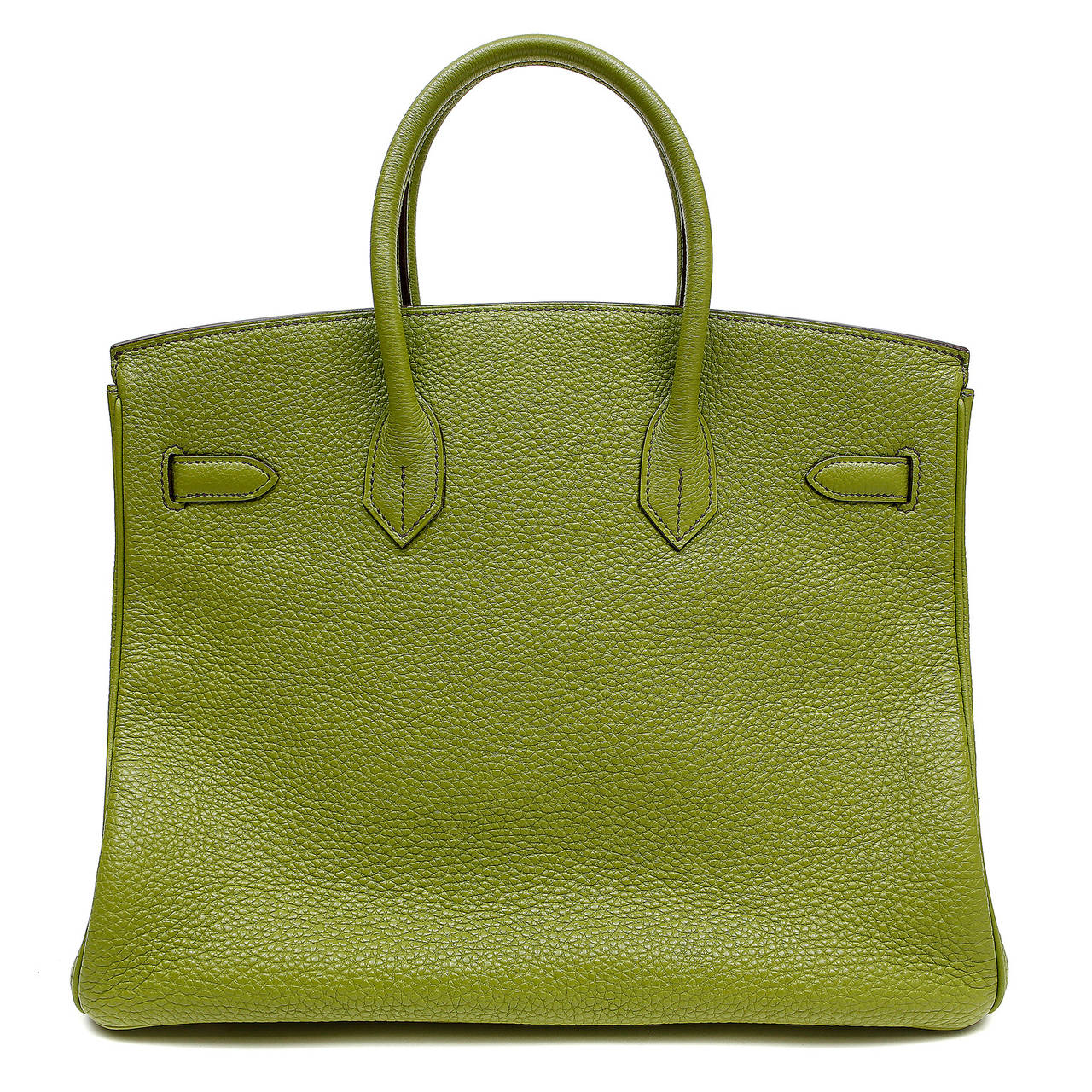 hermes vert anis green togo 35 cm birkin with phw hermes bag. Black Bedroom Furniture Sets. Home Design Ideas