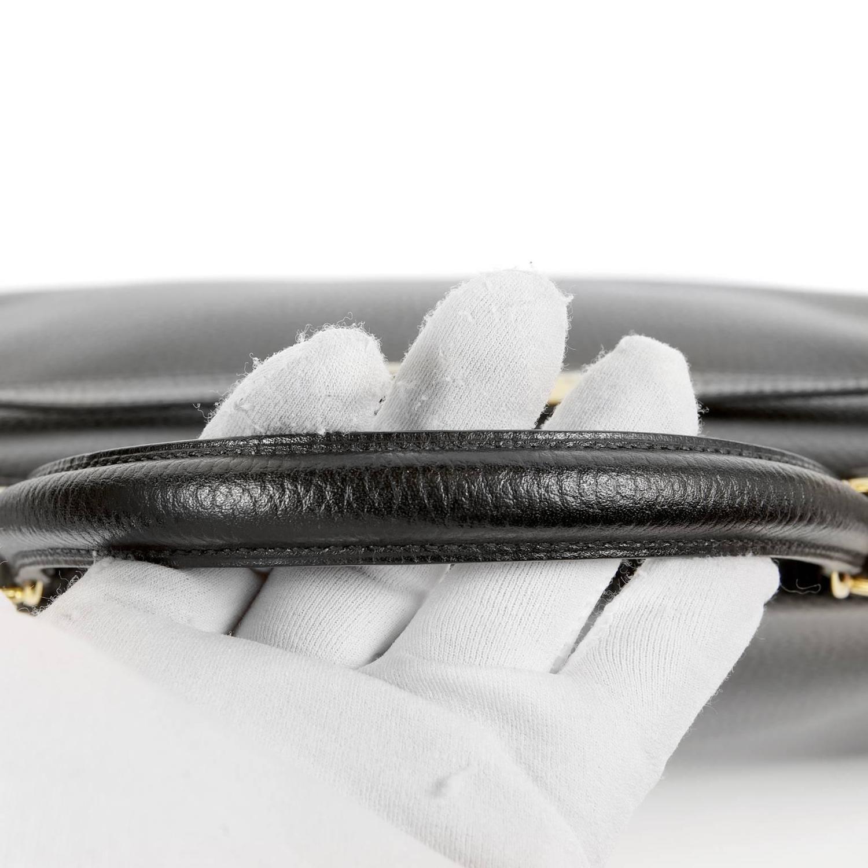 hermes black kelly bag togo leather gold hw 35 cm