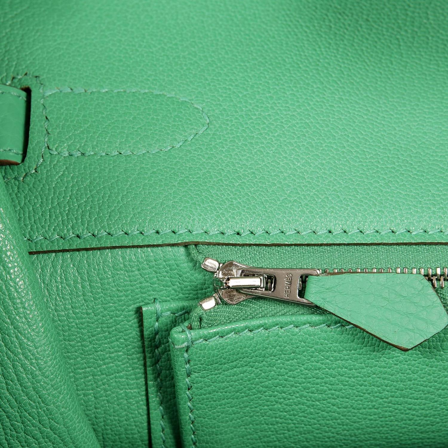 different styles of hermes bags - hermes kelly 35cm fresh menthe green clemence gold hardware ...