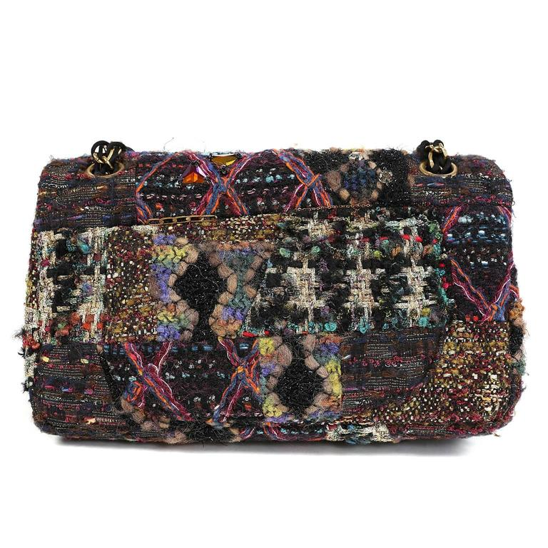 Chanel Jeweled Tweed Runway Flap Bag- PRISTINE, unworn condition