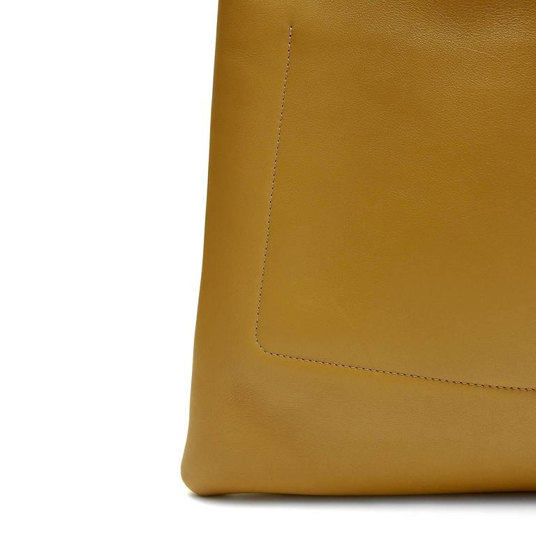 Celine Goldenrod Patch Pocket Runway Tote 5