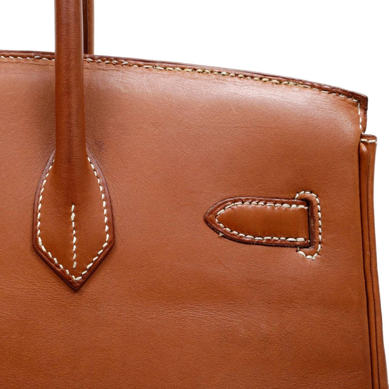 hermes terracotta togo leather 40 cm kelly bag ghw