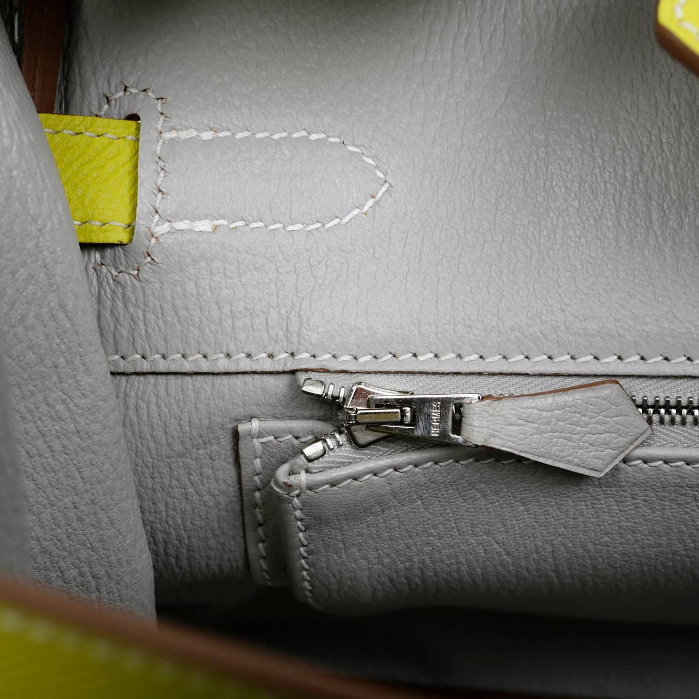 fake birkin bag hermes - Herm��s Soufre Yellow Epsom 30 cm Birkin Bag- Grey Interior, PHW ...