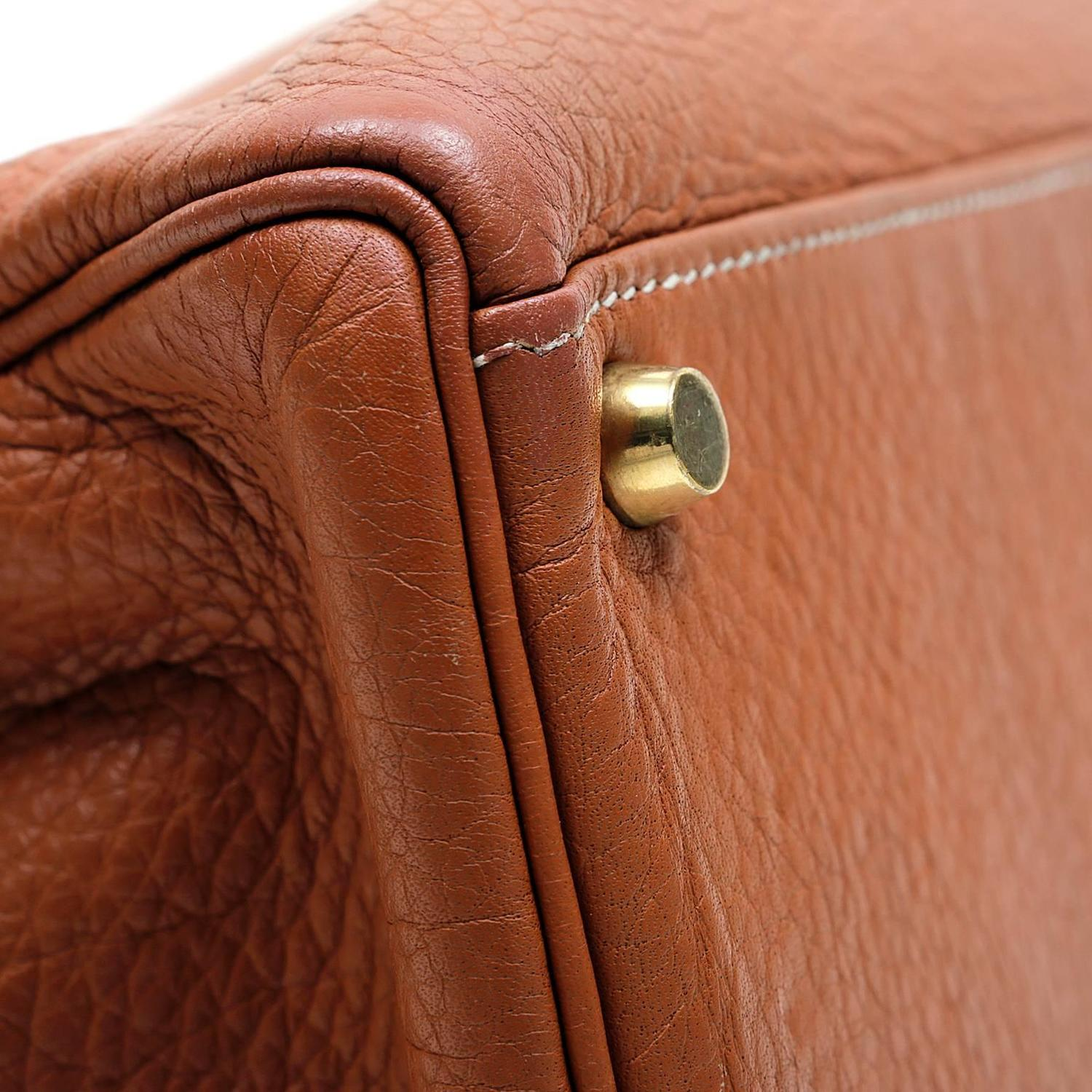cheap hermes bags - Herm��s Terracotta Togo Leather 40 cm Kelly Bag, GHW at 1stdibs