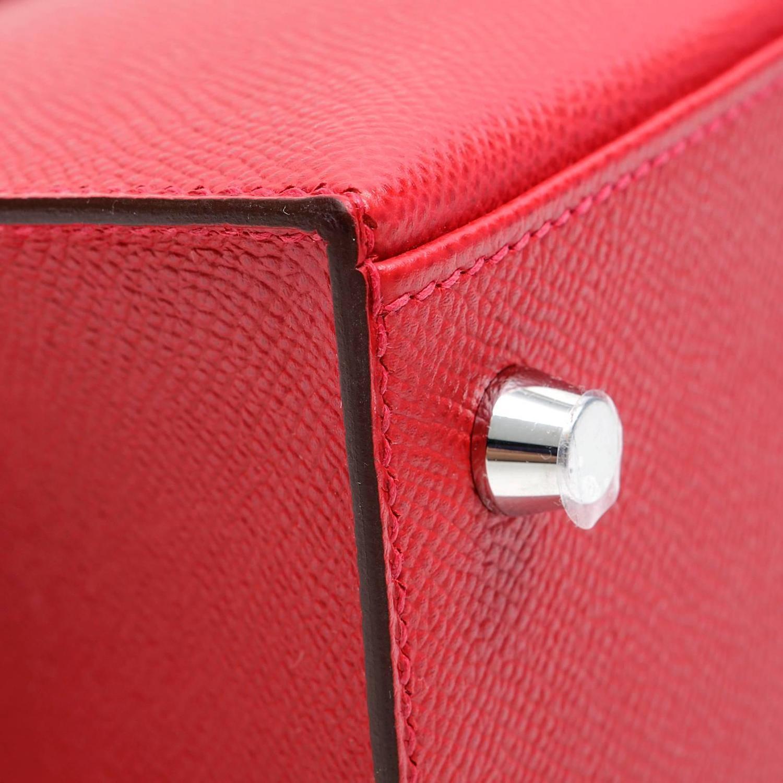 hermes rouge casaque epsom kelly pochette