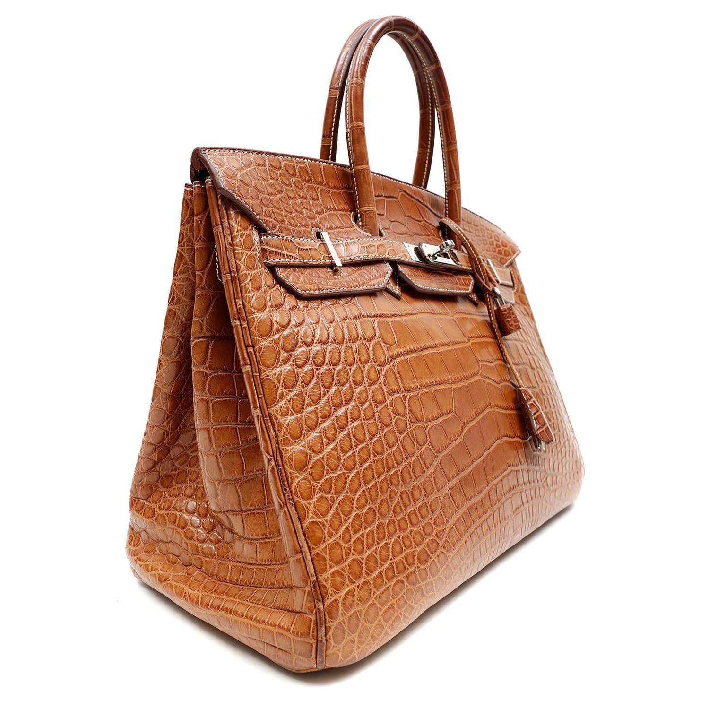 discount birkin bag - hermes gold matte alligator birkin bag- 35 cm phw, cheap hermes ...