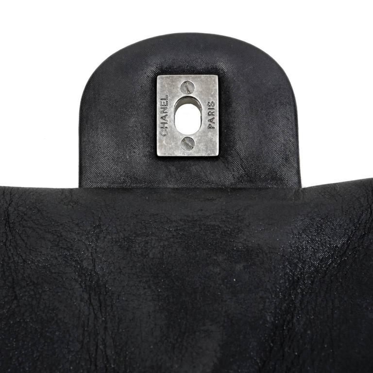 Chanel Black Tweed Runway Rolled Backpack- TWO BAGS 9
