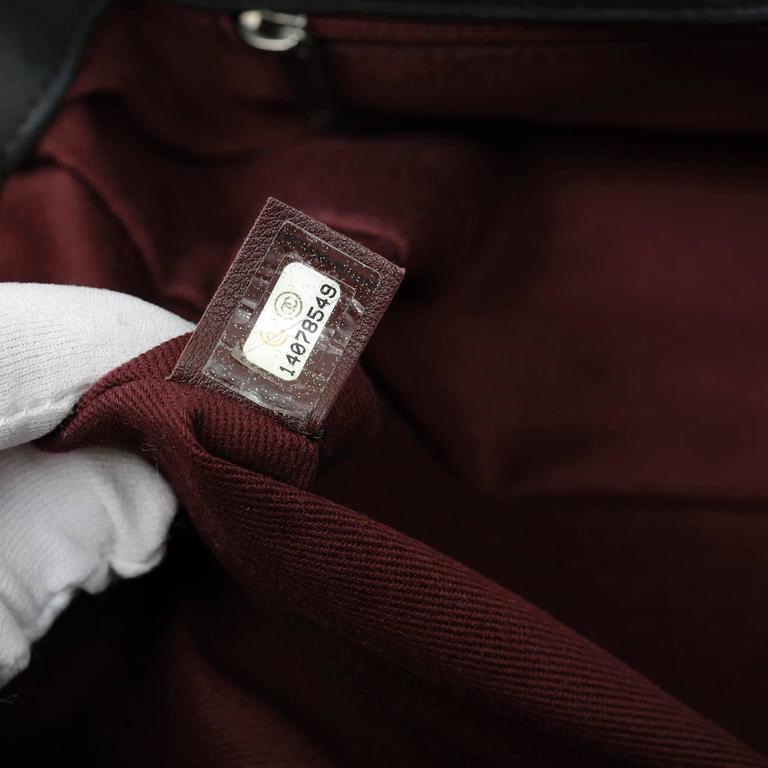 Chanel Black Tweed Runway Rolled Backpack- TWO BAGS 10