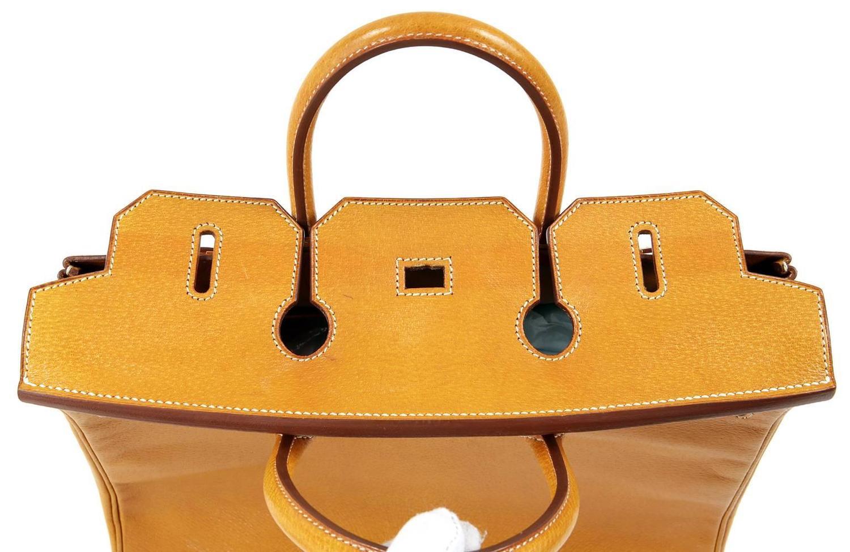 fake hermes birkin bag for sale - Herm��s Peau Porc 32 cm HAC Birkin Bag, GHW For Sale at 1stdibs