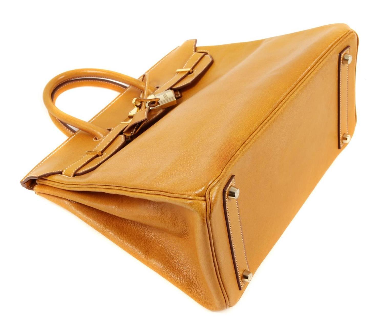 Herm��s Peau Porc 32 cm HAC Birkin Bag, GHW For Sale at 1stdibs