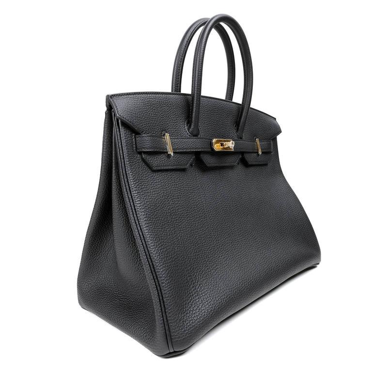 90ecd2266f Hermes Birkin 35 Black Togo Ghw Price