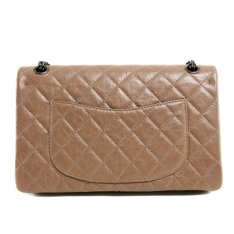 Chanel Camel Leather 2.55 Reissue Flap Bag- PRISTINE