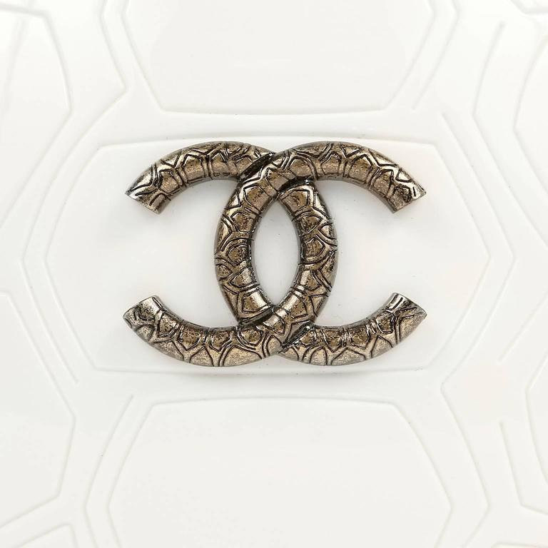 Chanel Ivory Resin Turtle Shell Print Bag with Strap- 2016 CRUISE 5