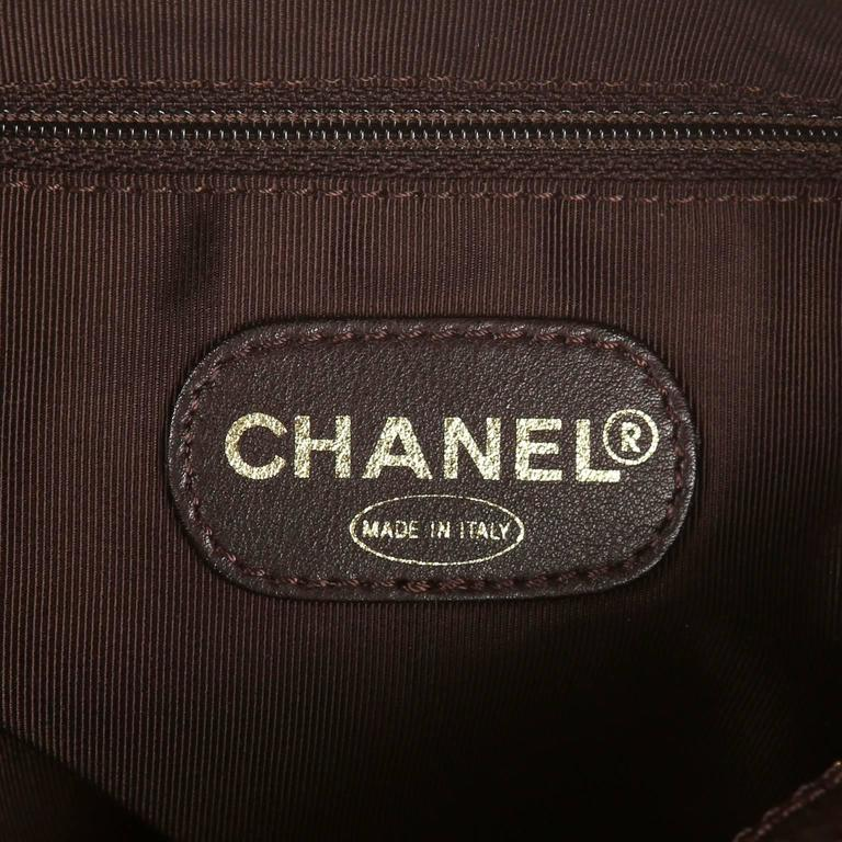 Chanel Espresso Caviar Leather Backpack 9